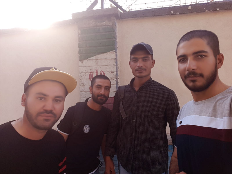 کامران بیگدلو تصویر سربازی درمشهد