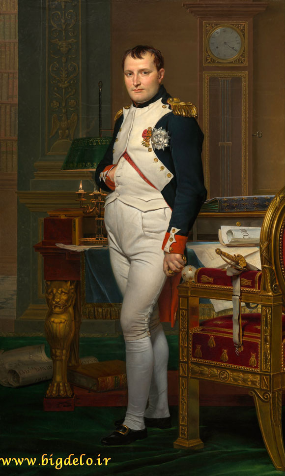 زبان بدن امضاگونه ناپلئون بناپارت